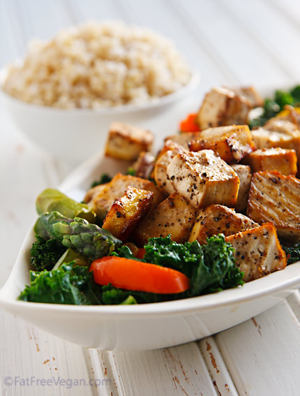 black-pepper-garlic-tofu