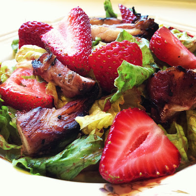 strawberrybalsamic salad